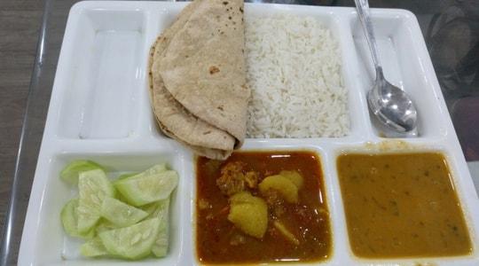comida de la India 15 dias