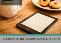 libros no ficción 2019