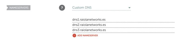 Actualizar-DNS