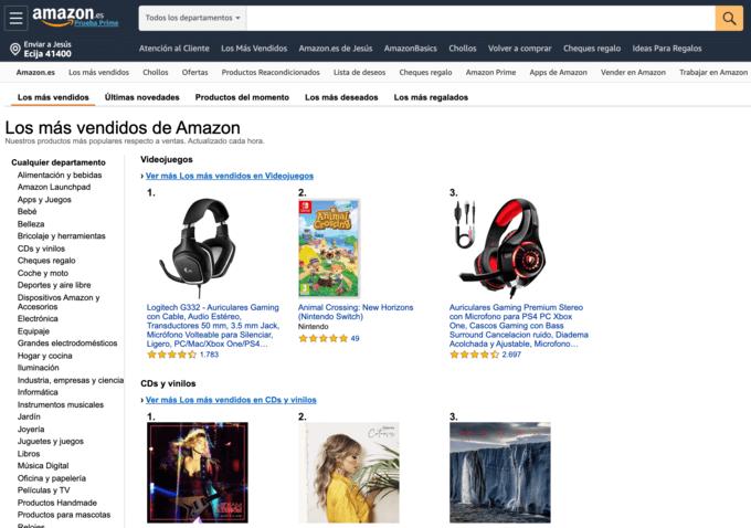 Bestsellers-Amazon