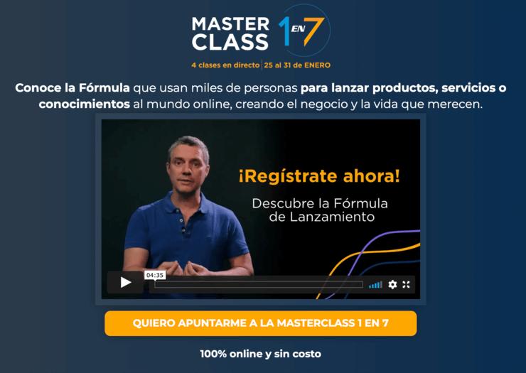 Evento de Formula de Lanzamiento. Luis Carlos